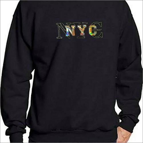 Mens Full Sleeves Printed Sweatshirt