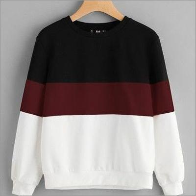 Mens Tri Color Sweatshirt