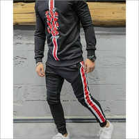 Mens Snake Embroidery Tracksuit