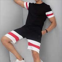 Mens Loose Fit T-Shirt And Shorts