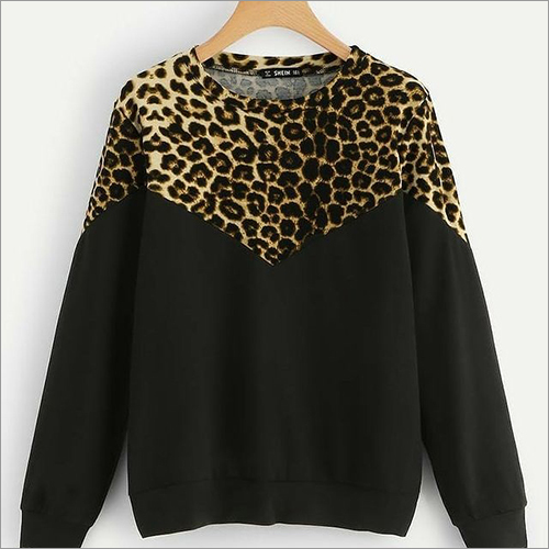 Mens Cheetah Print Sweatshirt