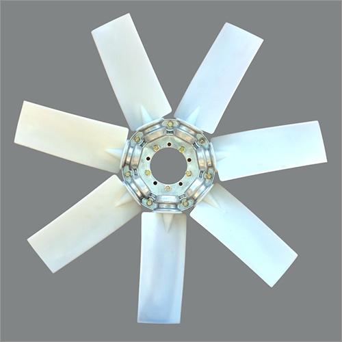 7 Blade Air Compressor Fan