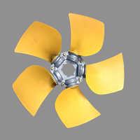 5 Blade Air Compressor Fan