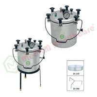 Wing-Nut Type, Steam Autoclave