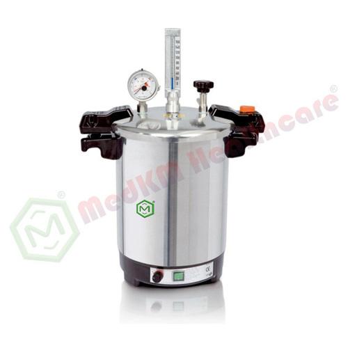 Pressure Cooker Type Portable Steam Autoclave