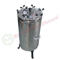Cylindrical Sterilizer Vertical (HP) (Electric/Non-Electric)