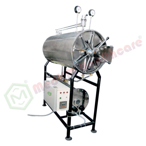 Cylindrical Horizontal Sterilizer (H.P.) (Electric/Non-Electric)