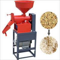 Single Phase Mini Rice Mill Machine