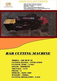 Steel Bar Cutting Machine