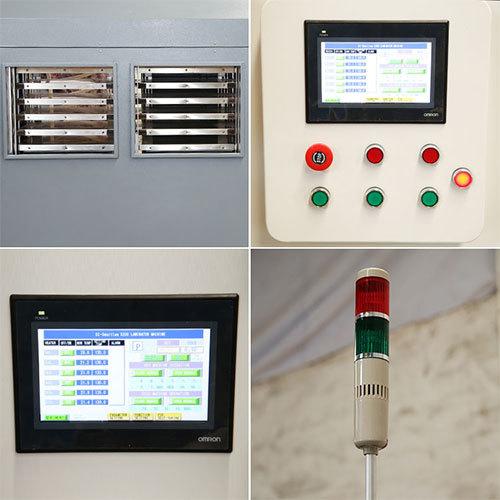 A3 Size PVC Sheet Press Fusing Laminator for PVC Card