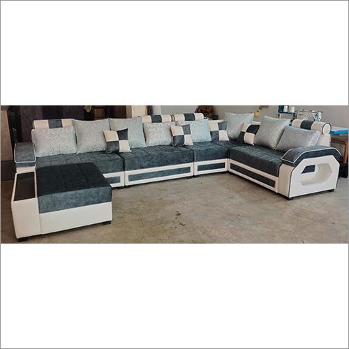 Alida 6 Seater LHS Fabric Sofa Set