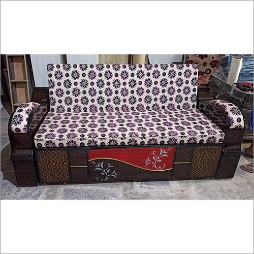 Brown Bed Cum Sofa Set