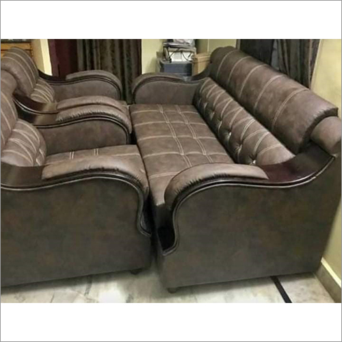 Dark Brown Stylish Sofa Set