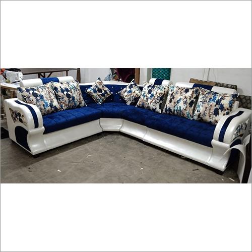 Italic Dark Blue 6 Seater Sofa