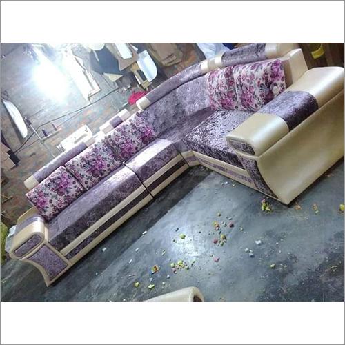Peach Pink Flower Stylish Sofa