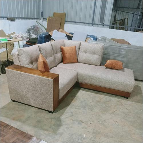 Royal L-Shaped Stunning White Sofa