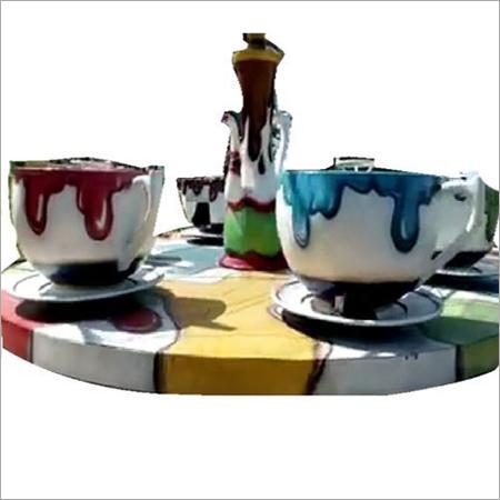 Fiber Round Cup Plate Ride, For Amusement Park