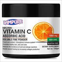 Vitamin C Plain Ascorbic Acid Powder