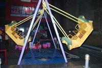 Fiber Double Columbus Ride, For Amusement Park
