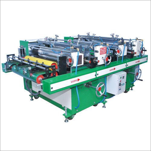 Double Color Printing Machine For PVC
