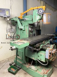 Double Spindle type Universal Milling Machine