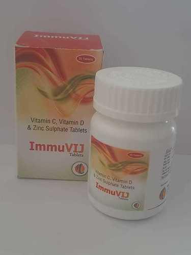 VITAMIN C 1000MCG+VITAMIN D 1000IU +ZINC SULFATE 22.5 MG