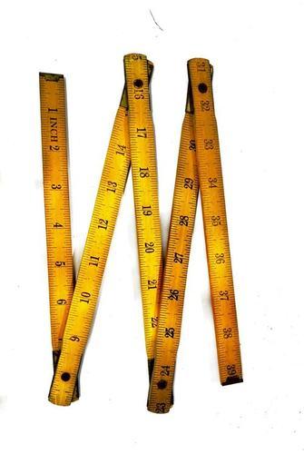 Wooden Folding Scale - 1 MTR ( 5 Fold )