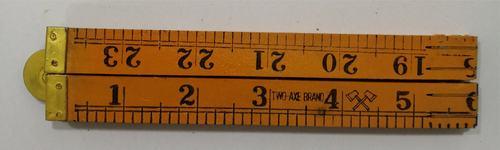 Wooden Carpenter Scale 4 Fold