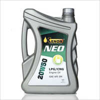 5 Ltr 20W50 LPG And CNG Engine Oil