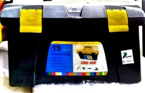 "Tool Box Plastic 19"""