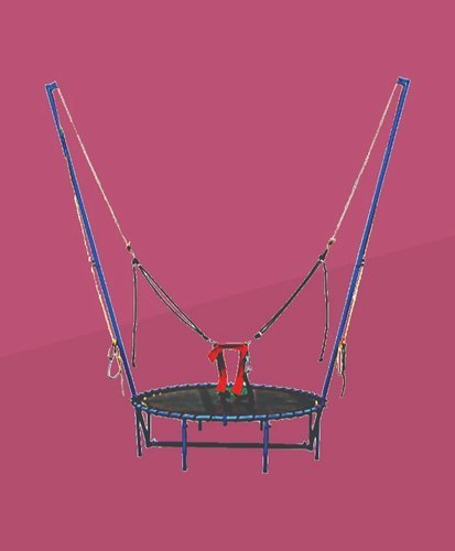 Bungee Jumping Trampoline, For Amusement Park