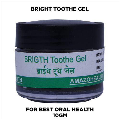 High-quality Certified Toothgel, No Fluoride