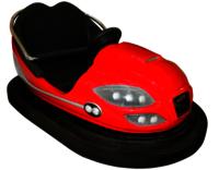 Red FRP Bumper Car