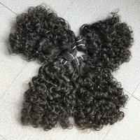 Raw Natural Deep Curly Hair , Cuticle correct