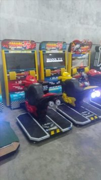 Arcade Super Bike Game Machine