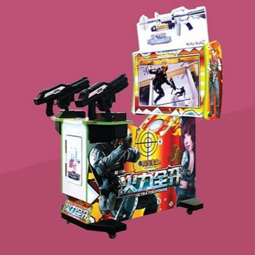 Plastic Electric 2 Player Shooting Game
