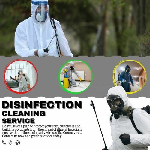 Industrial Disinfection Cleaning Services