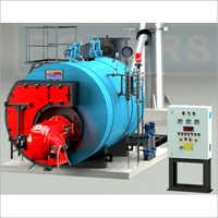 Oil & Gas Fired Smoke Tube Type Steam Boiler