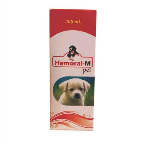 200Ml Hemoral M Pet Ingredients: Animal Extract