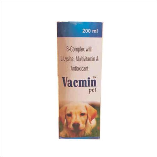200ml B complex With L Lysine Multivitamin and Antioxidant