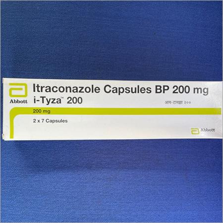 Itraconazole Capsules BP 200 mg