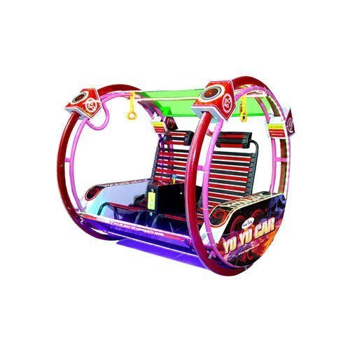 Round Arcade Game Battery Operated Happy Yo Yo Car