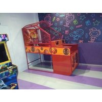 Wooden Basketball Arcade Game