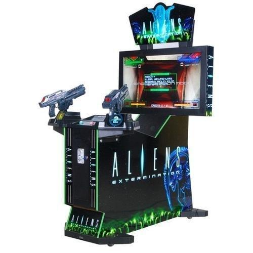 Aliens Gun Shooting Arcade Game