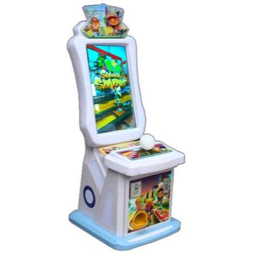 Electric PVC with Metal 3 In 1 Subway Arcade Game