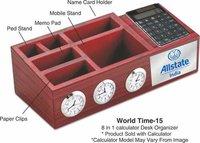8 In 1 Desk Organizer With Calculator