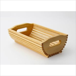 Solid Wooden Fruit Tray