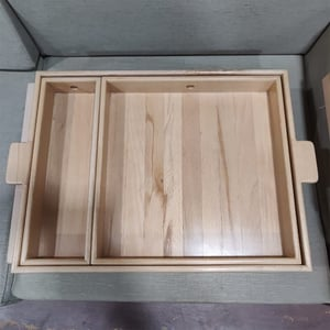 Solid Wooden Serving Tray