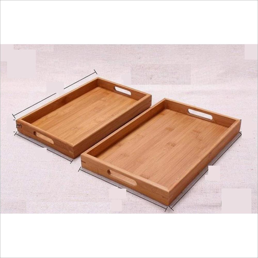 Rectangular Wooden Serving Tray