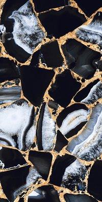 GOLDSTONE BLACK 600X1200mm SUPER HIGH GLOSS PORCELAIN TILES
